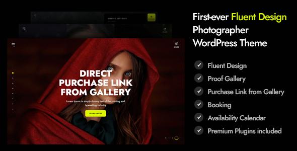Marshmallow - Photographer WordPress Theme