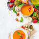 Tomato pepper soup gazpacho with garlic - PhotoDune Item for Sale