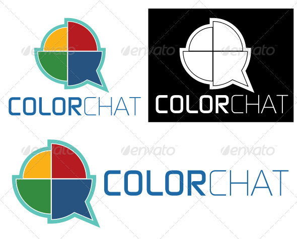 Color Chat - Vector Abstract
