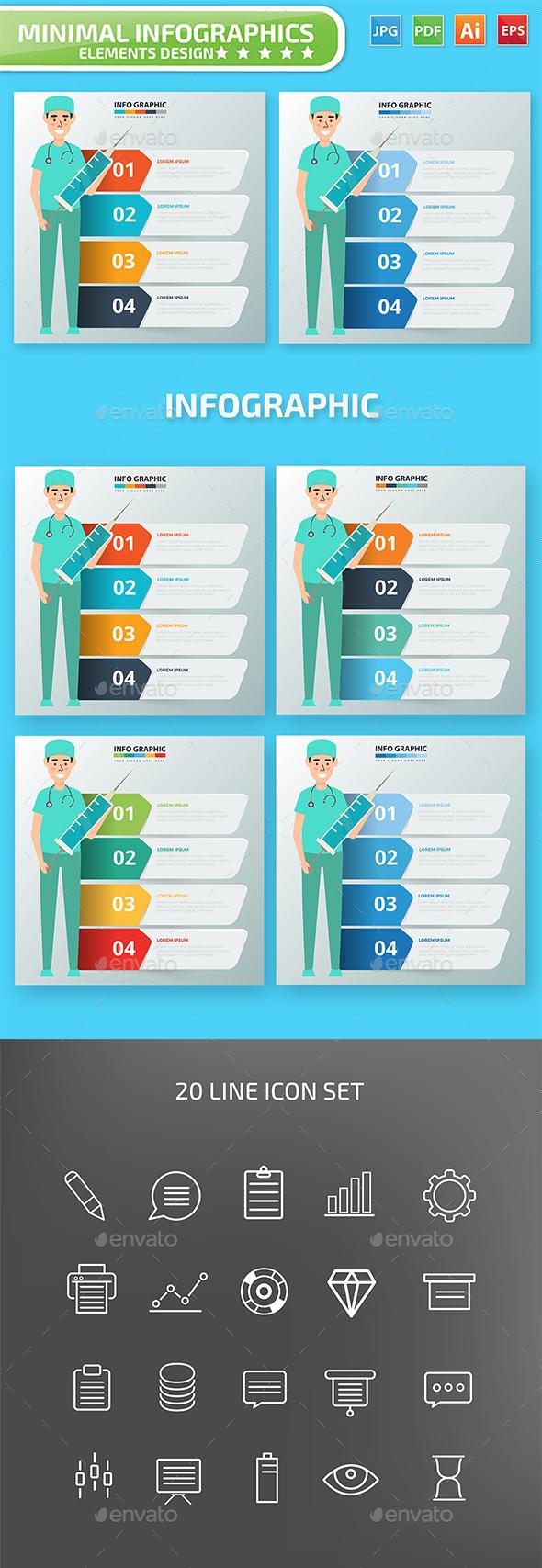 Doctor Infographics design