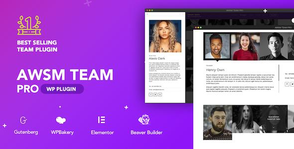 The Team Pro - Team Showcase WordPress Plugin Nulled