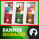 Christmas Sale Banner Signage - GraphicRiver Item for Sale