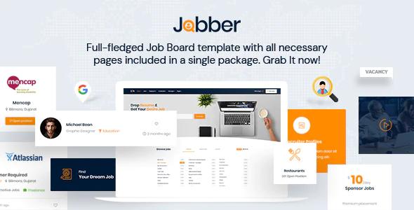 Special Jobber - Job Board HTML5 Template