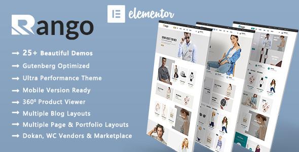 Incredible Rango   Elegant Fashion WooCommerce WordPress Theme