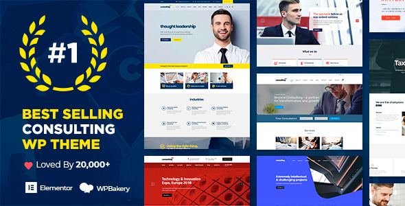 Super Consulting - Business, Finance WordPress Theme