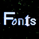 Pixel Screen / Fonts Bundle - VideoHive Item for Sale