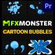 Cartoon Bubbles | Premiere Pro MOGRT - VideoHive Item for Sale