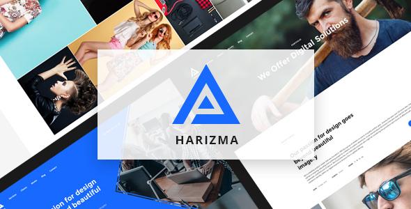 Harizma – Modern Creative Agency WordPress Theme