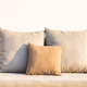 Comfortable pillow on sofa decoration interior of room - PhotoDune Item for Sale