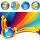 Globe Background - GraphicRiver Item for Sale