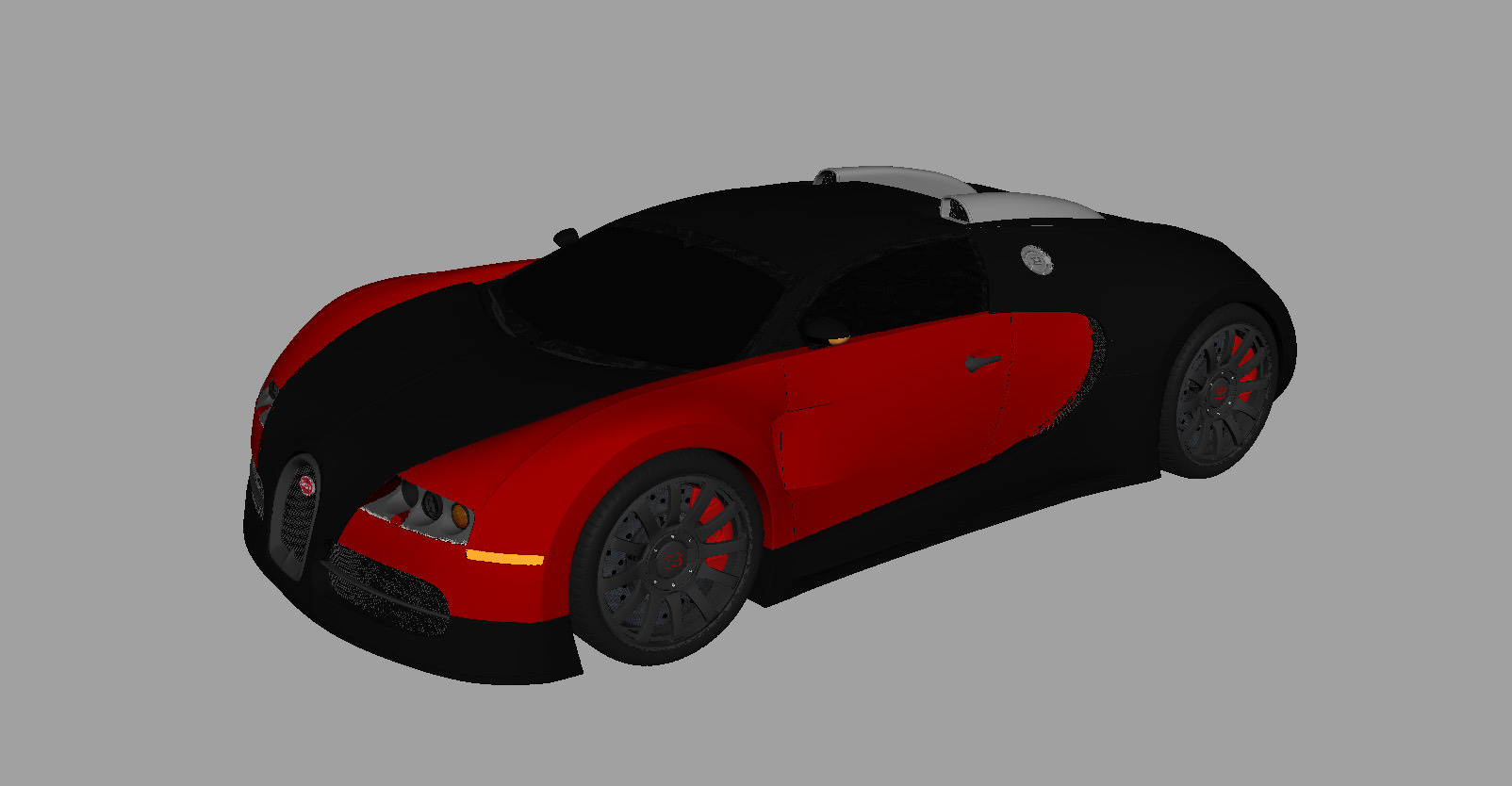 bugatti veyron 16 4 3d model with shaders by squaredvision. Black Bedroom Furniture Sets. Home Design Ideas