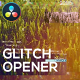 Glitch Digital Opener for DaVinci Resolve - VideoHive Item for Sale
