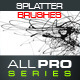 Unique Splatter Photoshop Brushes - GraphicRiver Item for Sale