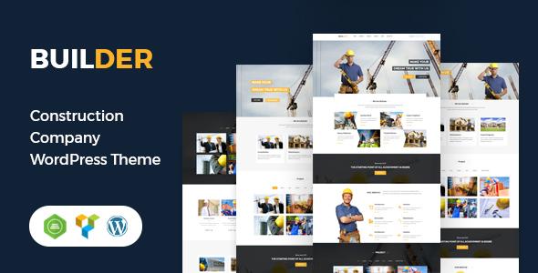 Wonderful Builder - Construction WordPress Theme