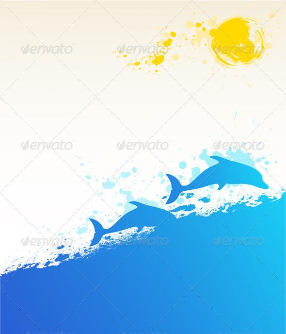 Summer Marine Background - Seasons Nature