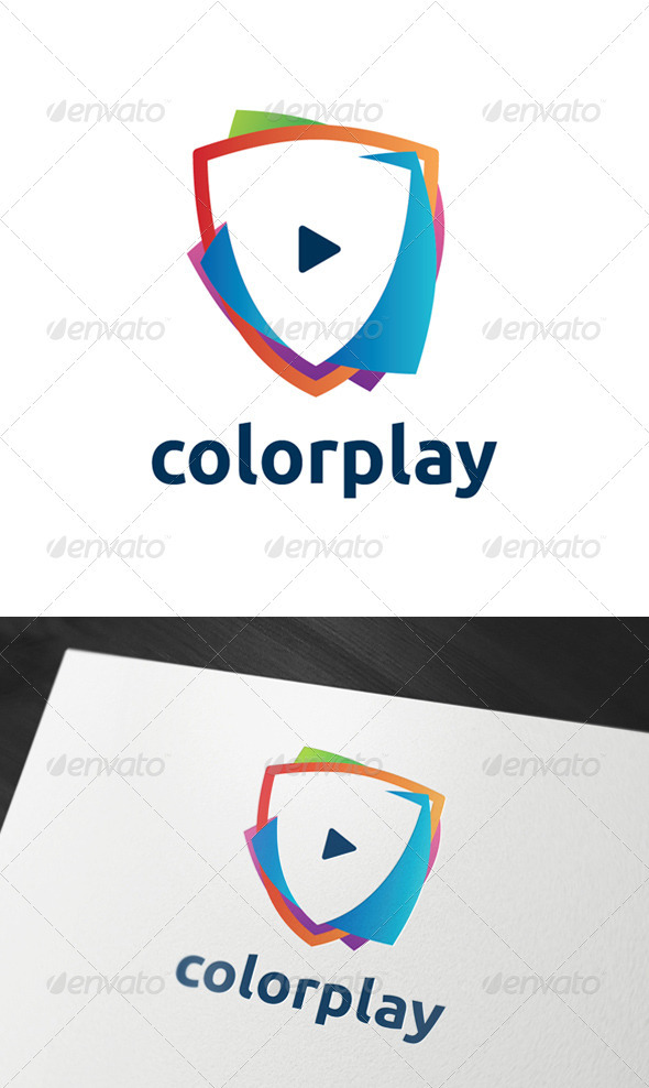 Colorplay Logo Template - Abstract Logo Templates