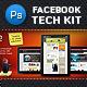 Facebook Tech Kit - GraphicRiver Item for Sale