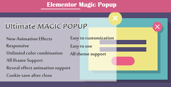 Download Elementor – Ultimate Magic Popup Free Nulled