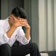 worried businessman sitting after losing job, stressed concept - PhotoDune Item for Sale