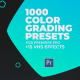 1000 Cinematic Color Presets - Lut Pack for Premiere Pro - VideoHive Item for Sale
