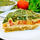 Pie celtic with spinach and tomatoes on board - PhotoDune Item for Sale