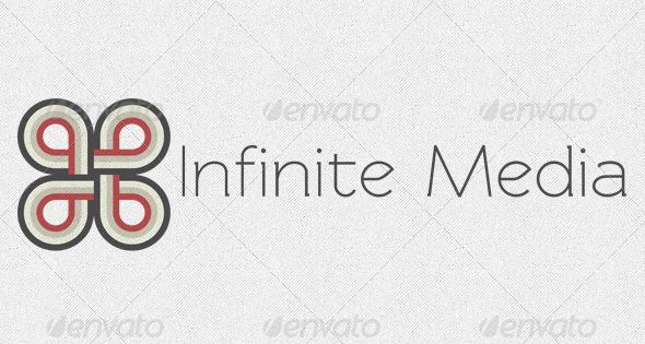Infinite Media Logo Template - Vector Abstract