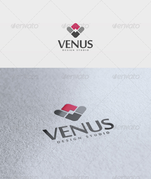 Venus Logo - Letters Logo Templates