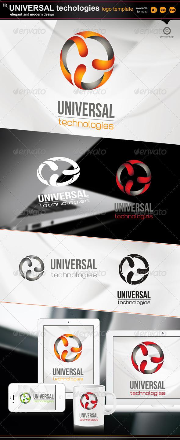 universal technologies - Logo Templates
