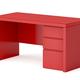 Red desk - PhotoDune Item for Sale