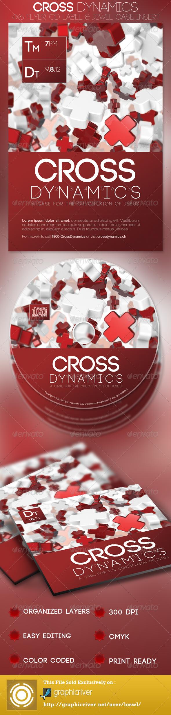 Cross Dynamics Church Flyer and CD Template - Church Flyers