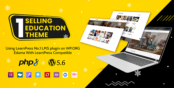 Wonderful Education WordPress Theme | Eduma