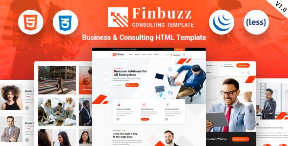 Finbuzz – Business HTML Template
