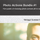 Photography Actions Bundle #1 - GraphicRiver Item for Sale