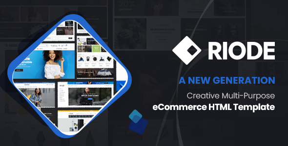Riode - Ultimate eCommerce HTML Template