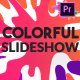 Colorful Slideshow | Premiere Pro MOGRT - VideoHive Item for Sale
