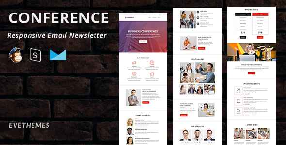 Conference - Responsive Email Newsletter