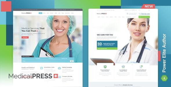 MedicalPress - Health WordPress Theme