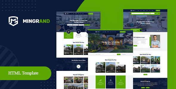 Mingrand - Real Estate HTML Template