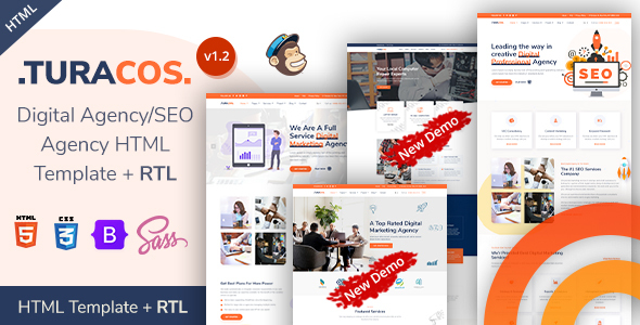 Wonderful Turacos - SEO & Digital Agency Bootstrap 5 Template