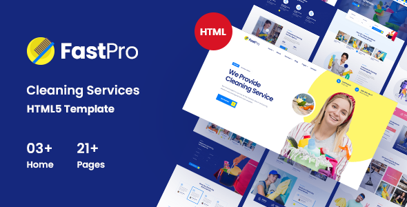 FastPro – Cleaning Services HTML5 Template