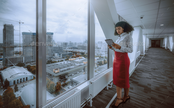 African-American businesswoman - Stock Photo - Images