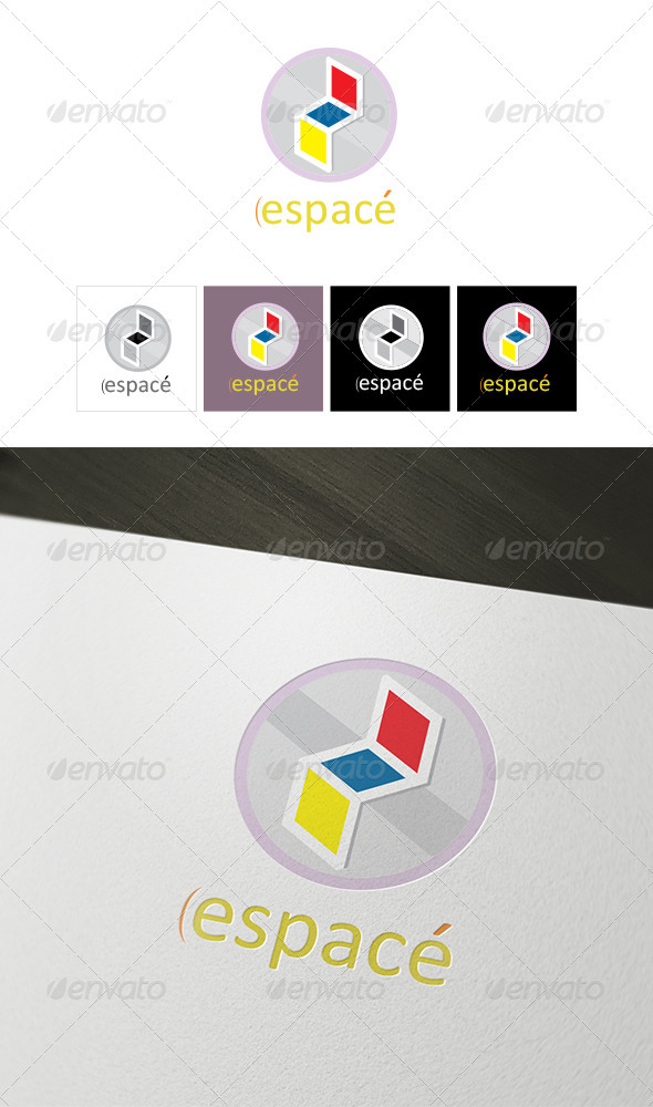 Espace Logo Template  - Vector Abstract
