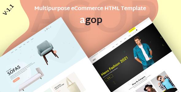 Agop – Multipurpose eCommerce HTML Template