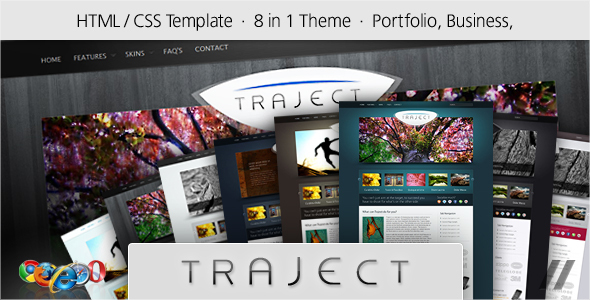 Traject - HTML Portfolio and Business Site - Marketing Corporate