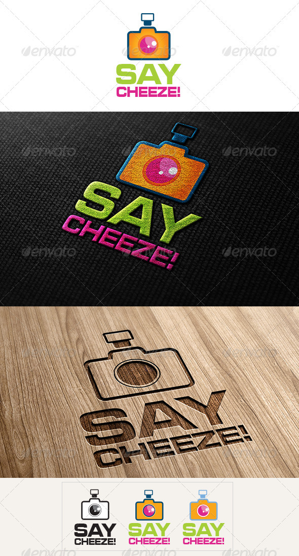 Say Cheez Logo - Vector Abstract