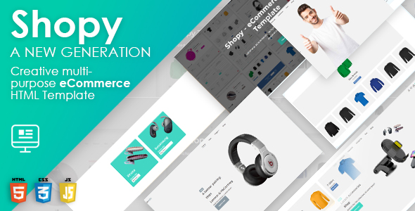 Shopy - Multipurpose HTML eCommerce Template