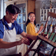 Mature Asian Couple Restoring Furniture In Workshop At Home Together - PhotoDune Item for Sale