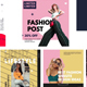 Fashion serif post instagram - VideoHive Item for Sale