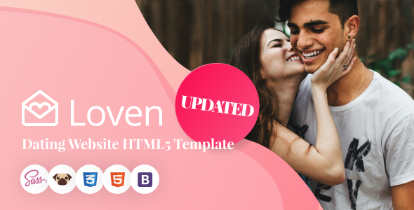 Loven - Dating HTML5 Website Template