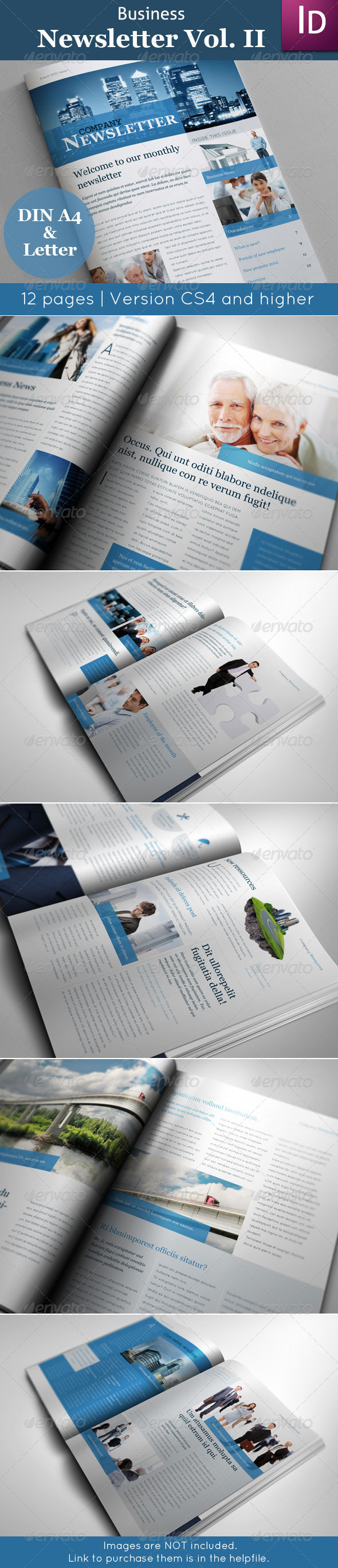 Business Newsletter Vol. II - Newsletters Print Templates
